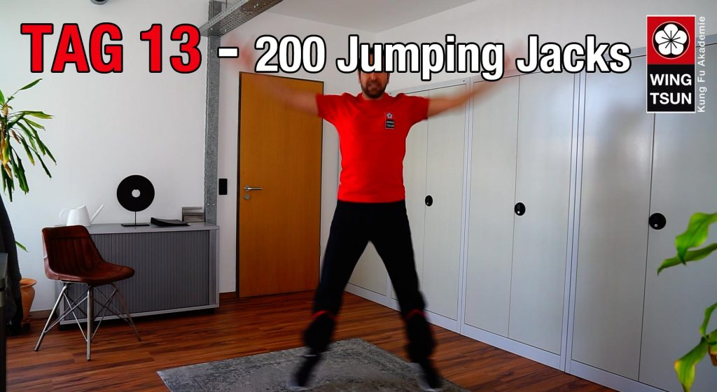 Tag 13 – 200 Jumping Jacks