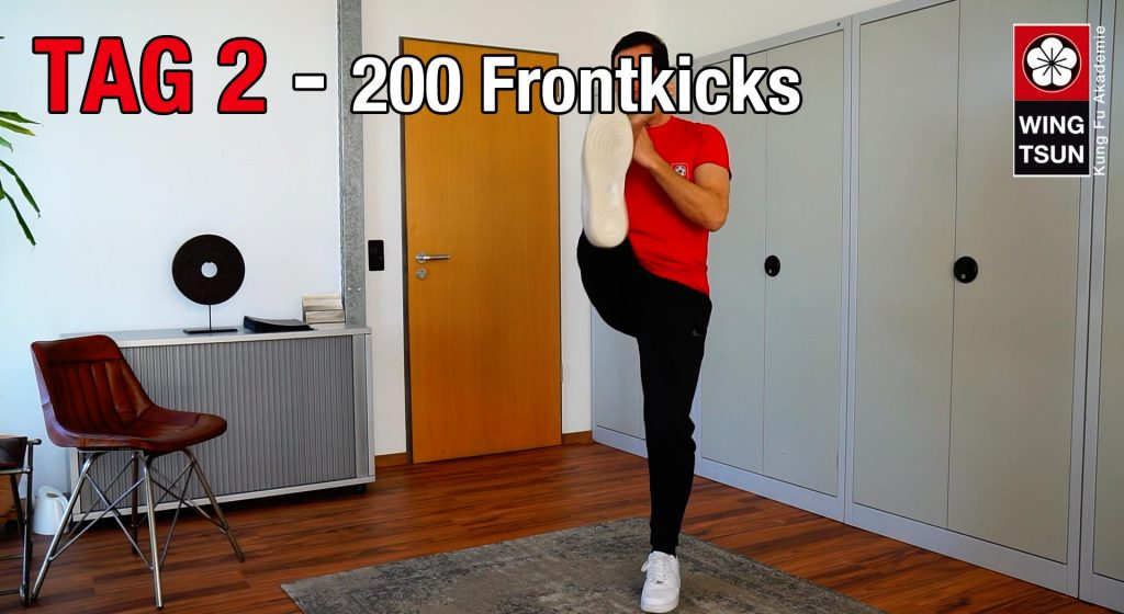 Tag 2 – 200 Frontkicks