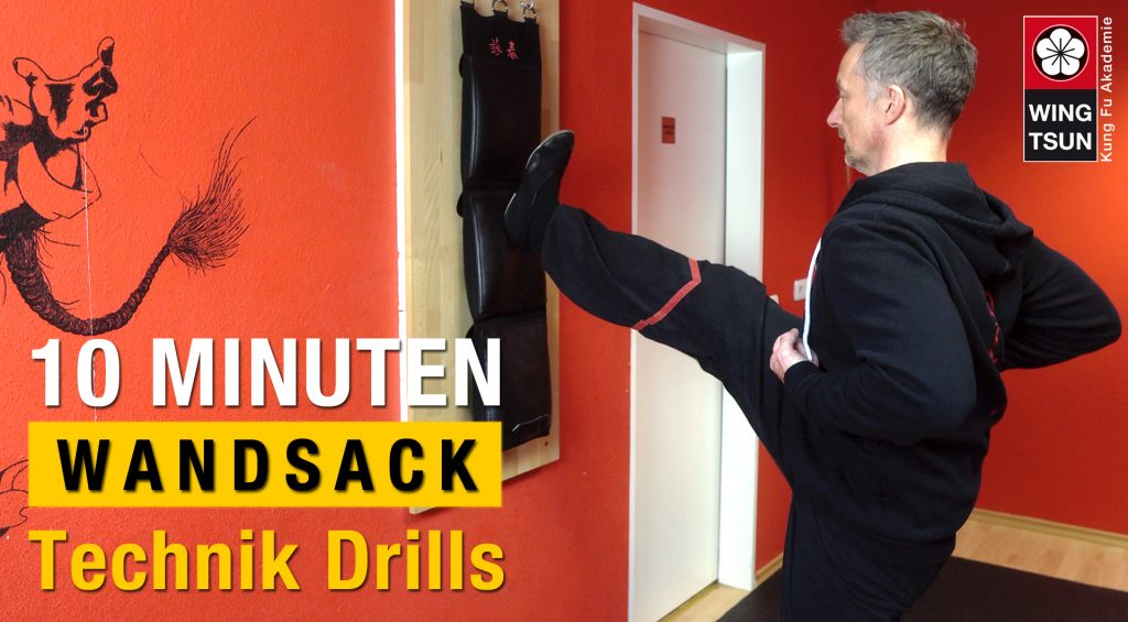 10 Minuten Wandsack Workouts